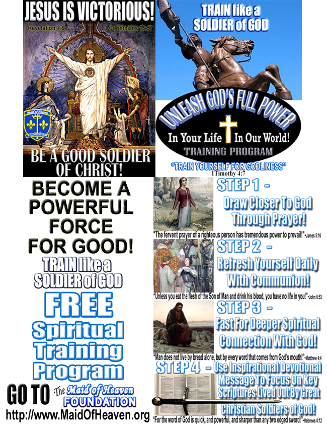 Unleash God's Full Power Spiritial Training Program Flyer