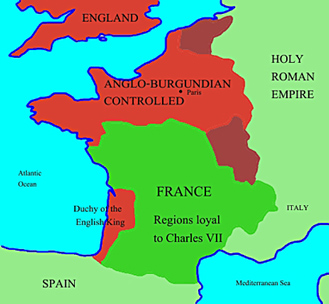 Joanofarc_quick_life_facts on Maps To Show Europe Before And After World War