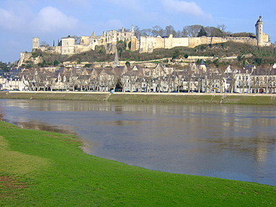 Chinon where Joan of Arc first met Charles VII