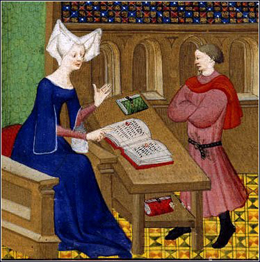 Christine de Pisan famous 15th century poet and writer