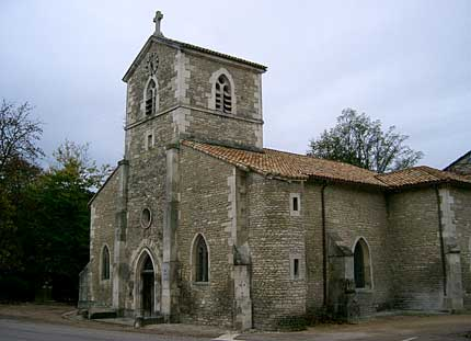 Church of Saint-Remy in the Hometown of Joan of Arc