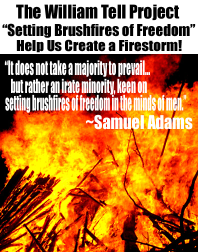 Help Us Create a Firestorm of Freedom