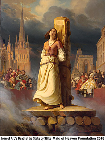Click to see full size Joan of Arc print