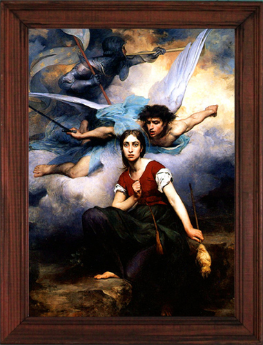 Click to see full size of Joan of Arc print