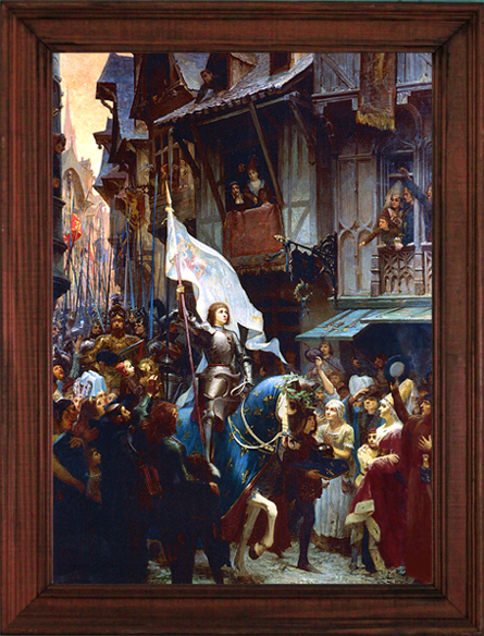 2018 Joan of Arc Print Now Available!