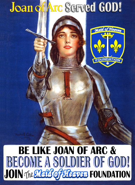 Joan of Arc Poster Beoome a Solider of God