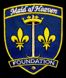 Maid of Heaven Foundation Patch