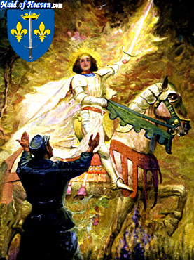 Saint Joan of Arc:  A Brilliantly Shining Light of God!