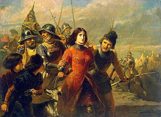 Joan of Arc by Adolphe-Alexandre Dillens