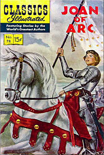 Joan of Arc Comic Book cover