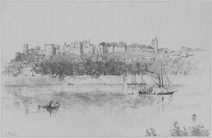 TOUR COUDRAY-CHINON in Joan of Arc book by Gower