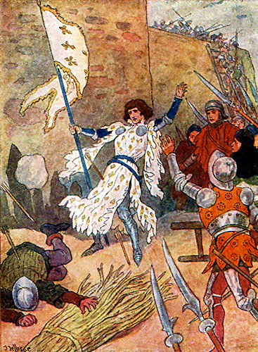 Cover for Andrew Lang's The Story of Joan of Arc