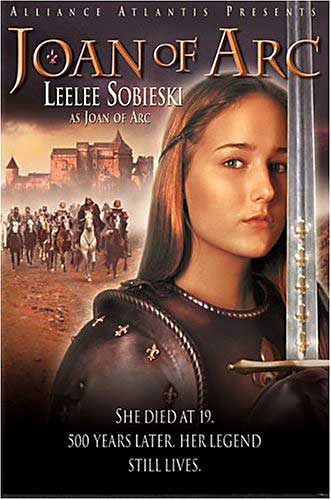 1999 Joan of Arc Movie starring Leelee Sobieski