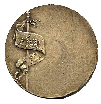Back of Joan of Arc medal