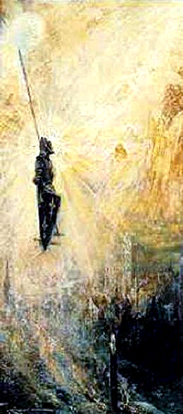 Apotheosis of Joan of Arc painting