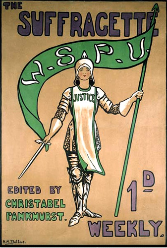 Joan of Arc The Suffragette Poster