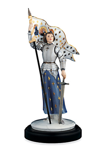 Joan of Arc figurine by Coalport
