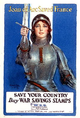 WWI Poster of Joan of Arc