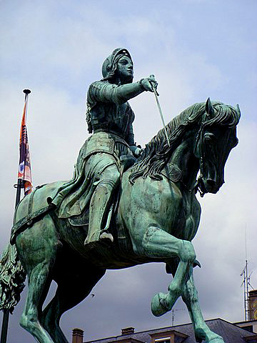 Joan of Arc Equestrian Statue Orleans