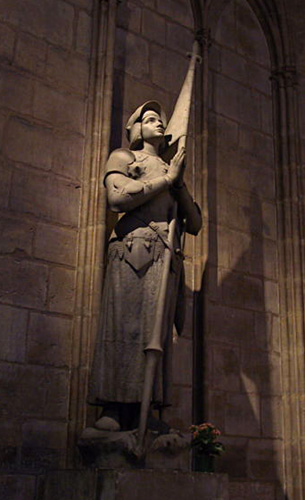 Painting of Joan of Arc Praying