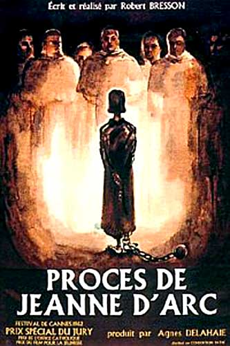 Movie Poster for The Trial of Joan of Arc