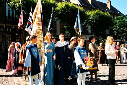 Pilgrimage to Reims during Joan of Arc Festival in 2005