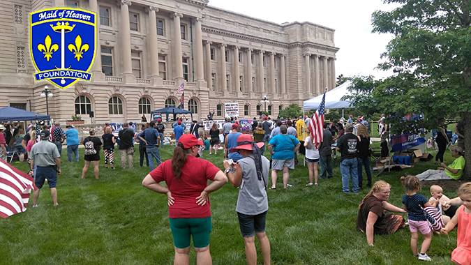 Patriot Day 2nd Amendment Freedom Rally 5/26/2020 at Kentucky Capital Frankfort Kentucky