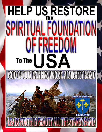 Restore Spiritual Foundation to the USA