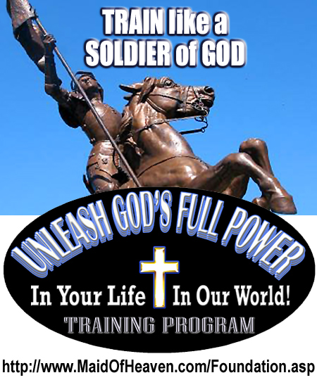 Train Likd a Soldier of God with the Unleash God's Full Power Training Program