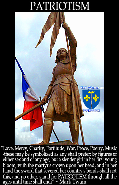 St. Joan of Arc THE Symbol of Patriotism